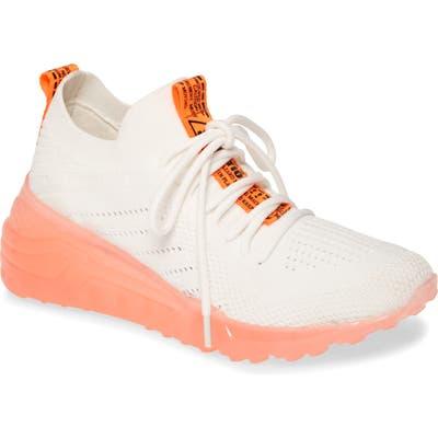 Steve Madden Cello Sneaker- Orange