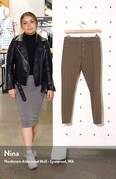 Heather High Waist Crop Jeggings, sales video thumbnail