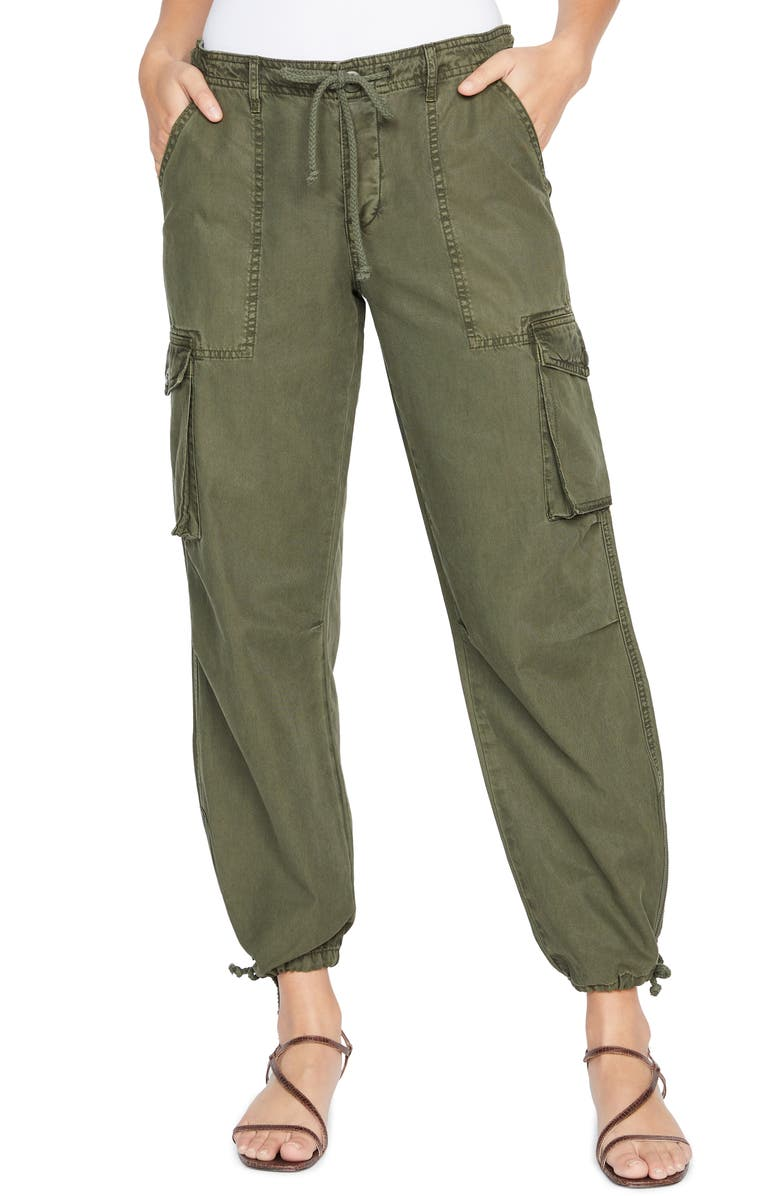 SANCTUARY Paratrooper Cargo Pants, Main, color, ARMY GREEN