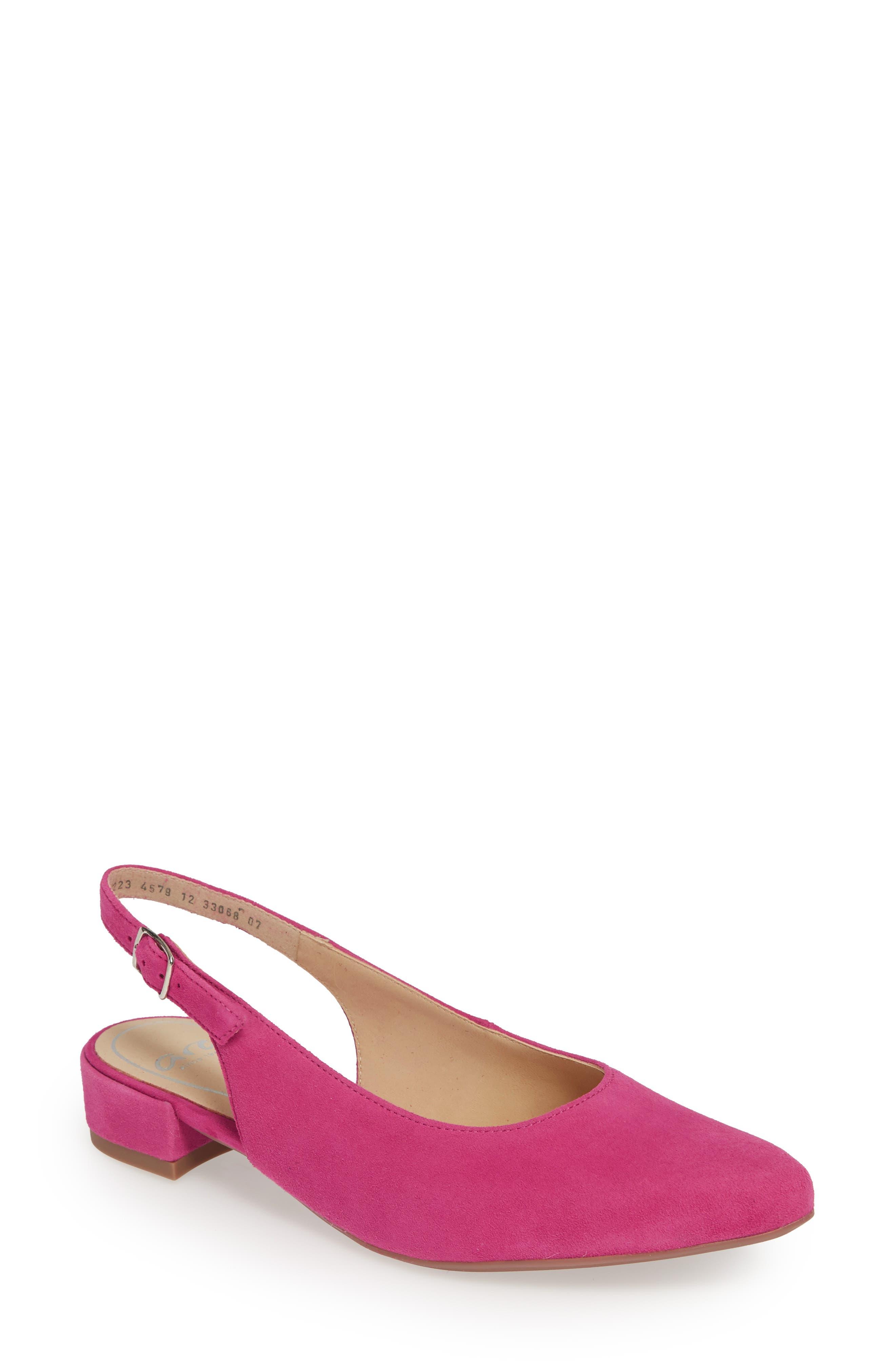 Ara Pixie Slingback Pump, Pink