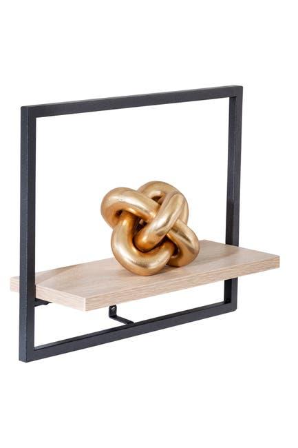 Image of Honey-Can-Do Black Small Horizontal Shelf