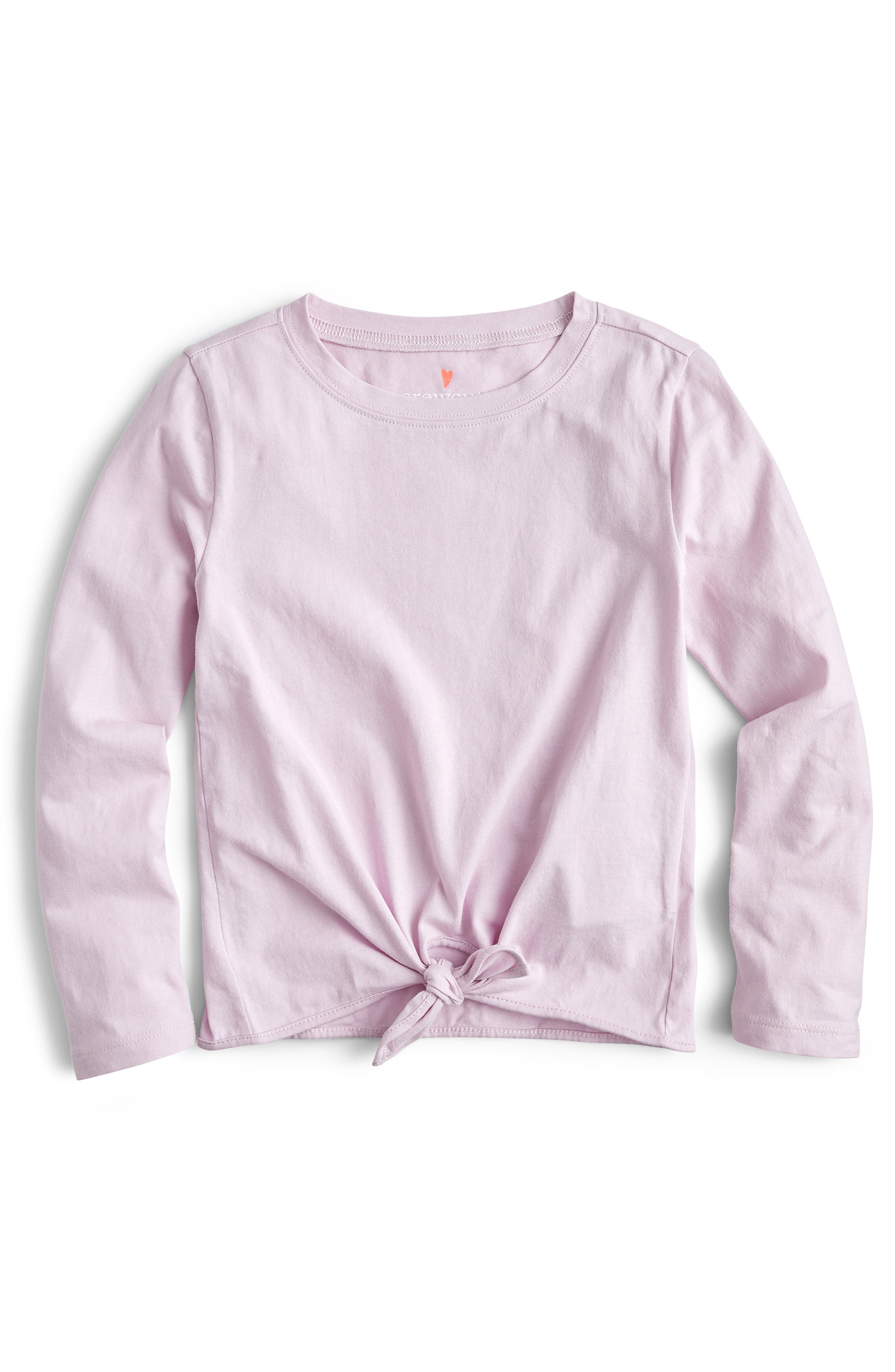 Toddler Girls Crewcuts By Jcrew Tie Front Long Sleeve Tee Size 3T  Purple