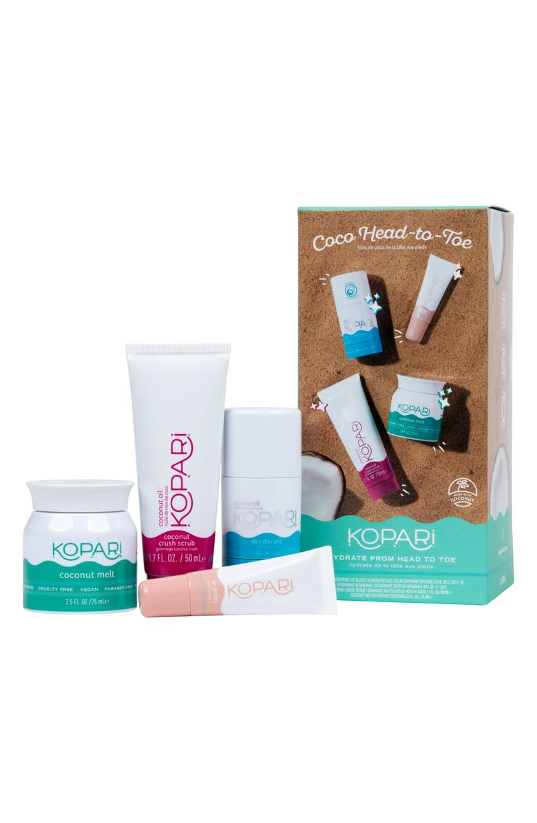 KOPARI Coco Head-to-Toe Travel Size Kit, Main, color, NO COLOR