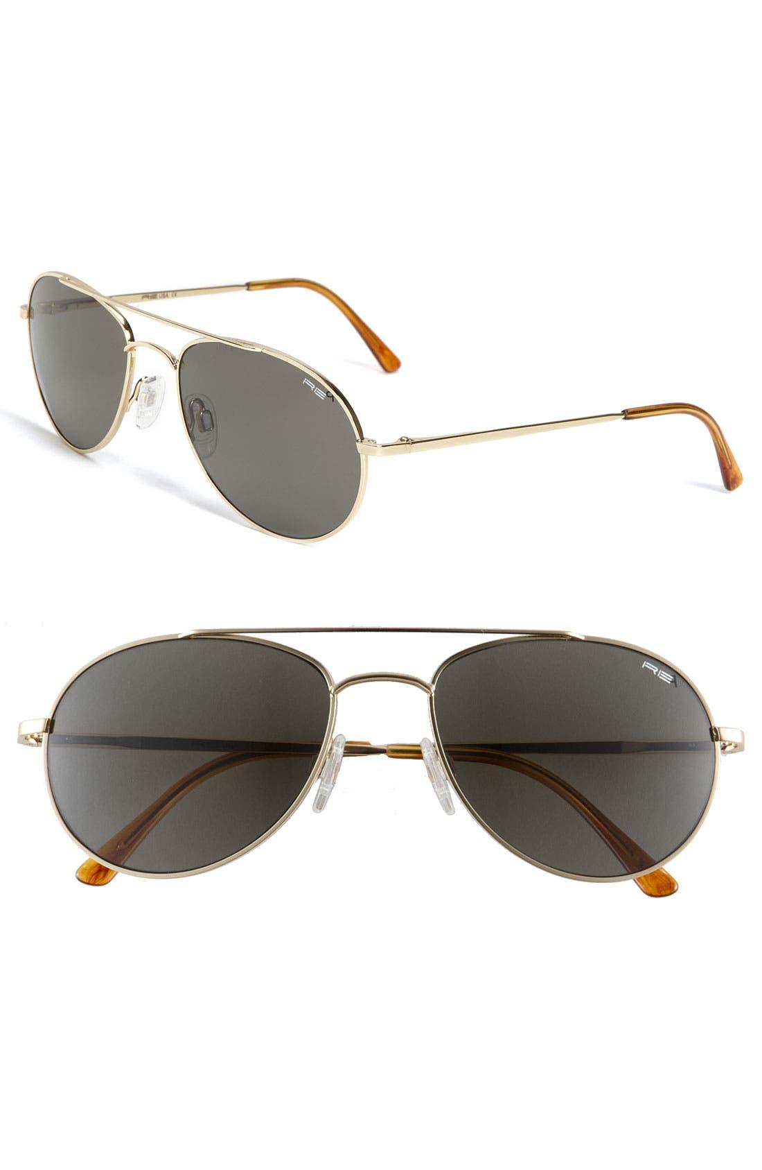 'Crew Chief' 54mm Polarized Sunglasses, Main, color, 720