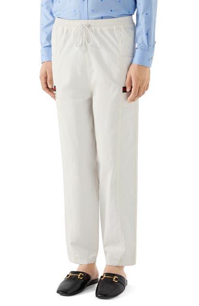 Gucci Pants COTTON CANVAS PANTS