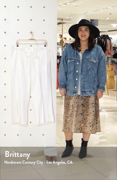 Paperbag Waist Linen & Rayon Blend Pants, sales video thumbnail