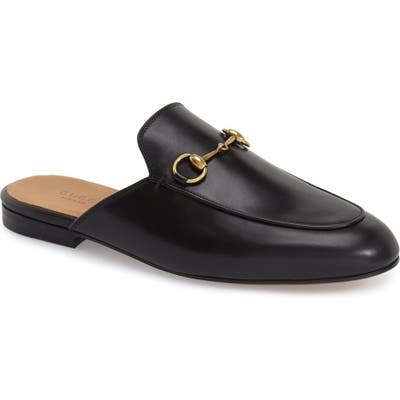 Gucci Princetown Loafer Mule - Black