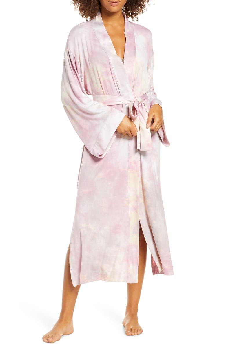 MASONGREY Kimmy Robe, Main, color, BLUSH TIE-DYE