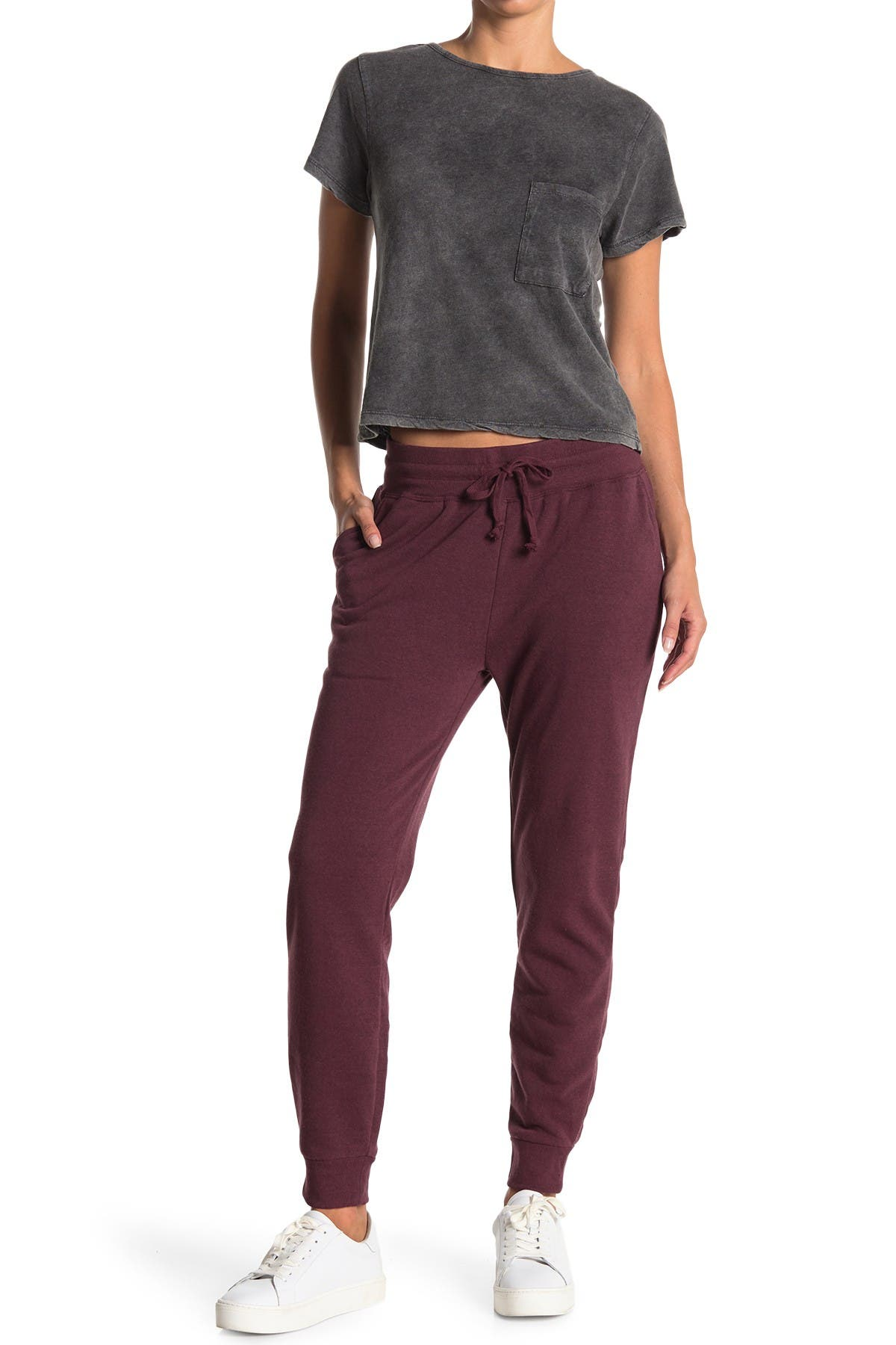 Image of Threads 4 Thought Skinny Solid Fleece Joggers