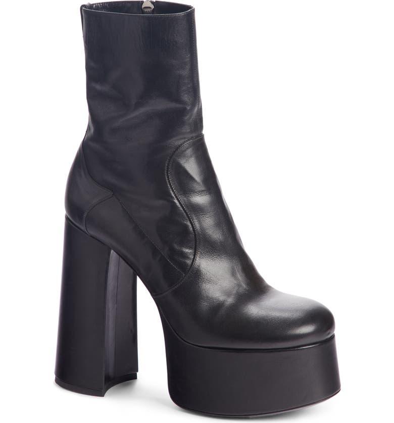 a10bb2a874 Saint Laurent Billy Kangaroo Leather Platform Boot (Women) | Nordstrom
