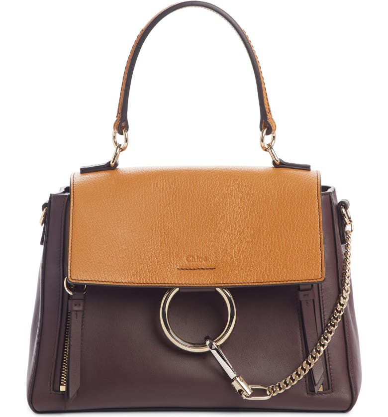 Chlo Small Faye Day Leather Shoulder Bag