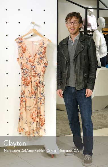 Floral Sleeveless Chiffon Dress, sales video thumbnail