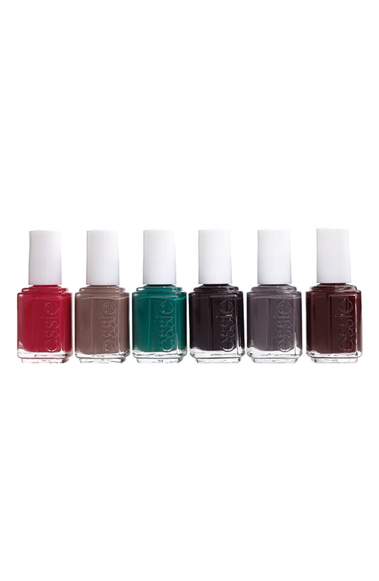 ESSIE <sup>®</sup> 'Winter Collection' 6-Pack, Main, color, 000