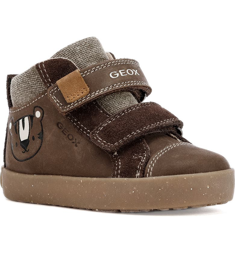 GEOX x WWF Kilwi Sneaker, Main, color, COFFEE
