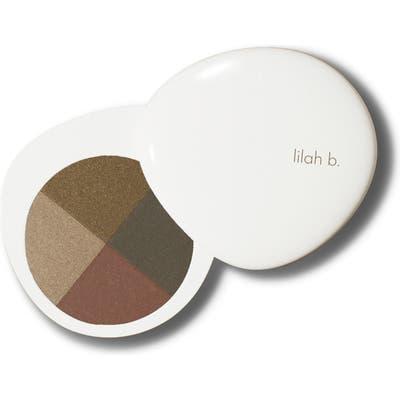 Lilah B. Palette Perfection Eye Quad - B. Envied (Olive Palette)