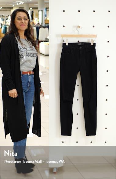Barbara High Waist Ripped Washed Black Skinny Jeans, sales video thumbnail