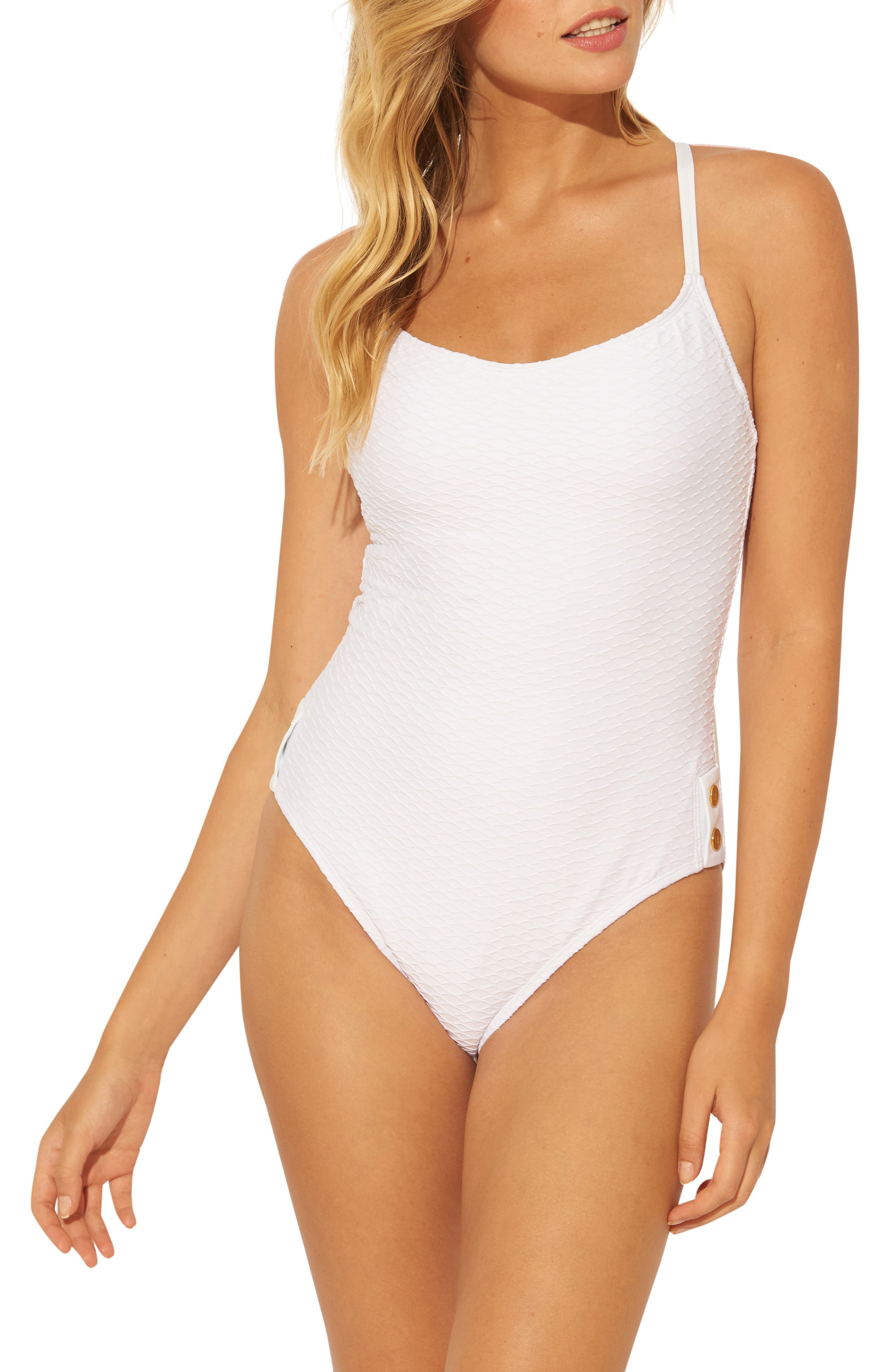 Floating Underwire One-Piece Swimsuit