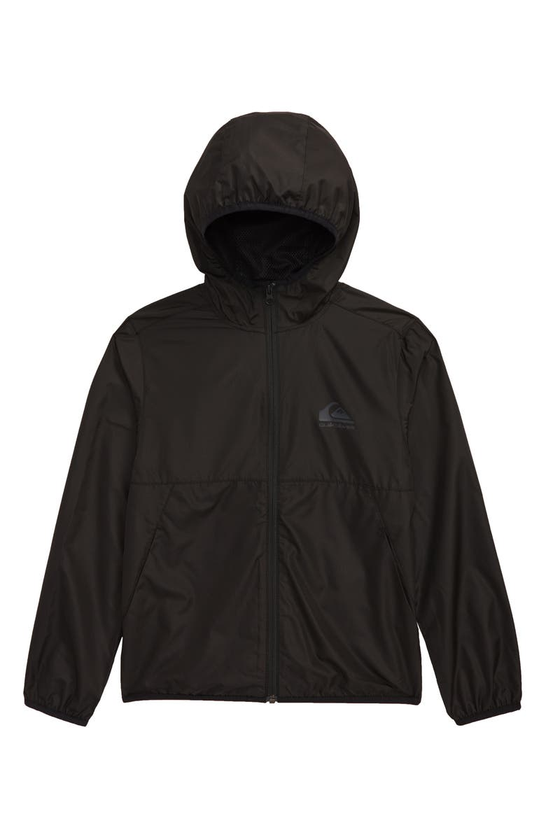 QUIKSILVER Everyday Hooded Jacket, Main, color, BLACK