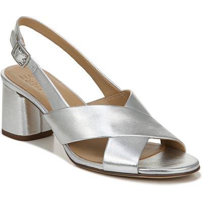 Naturalizer Azalea Slingback Sandal N - Metallic