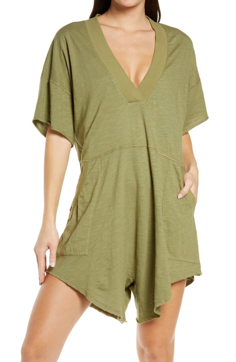 FREE PEOPLE Intimately FP Why Not Romper, Main, color, ADVENTURER
