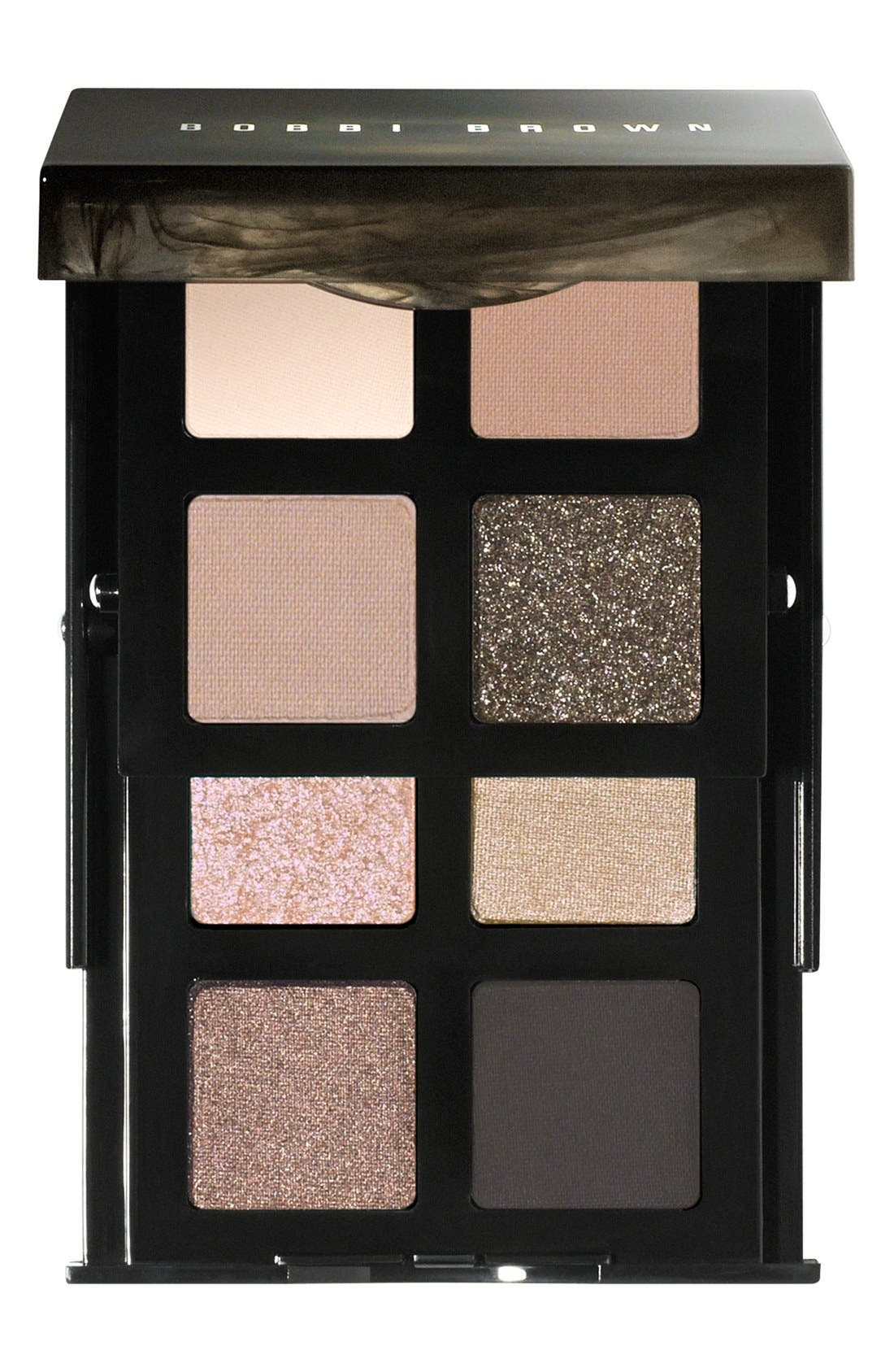 'Smokey Nudes' Eyeshadow Palette, Main, color, 000