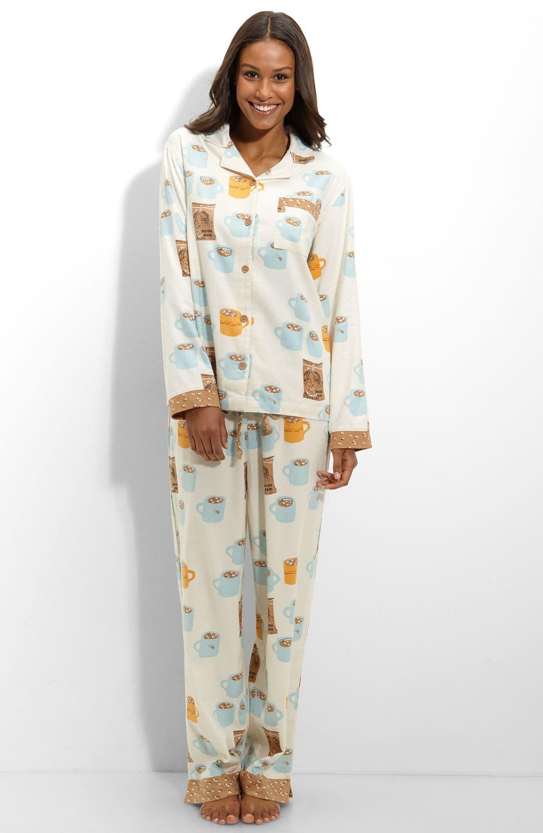 ,                             Flannel Pajamas,                             Main thumbnail 19, color,                             270