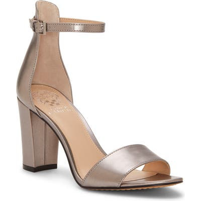 Vince Camuto Corlina Ankle Strap Sandal, Metallic (Nordstrom Exclusive)