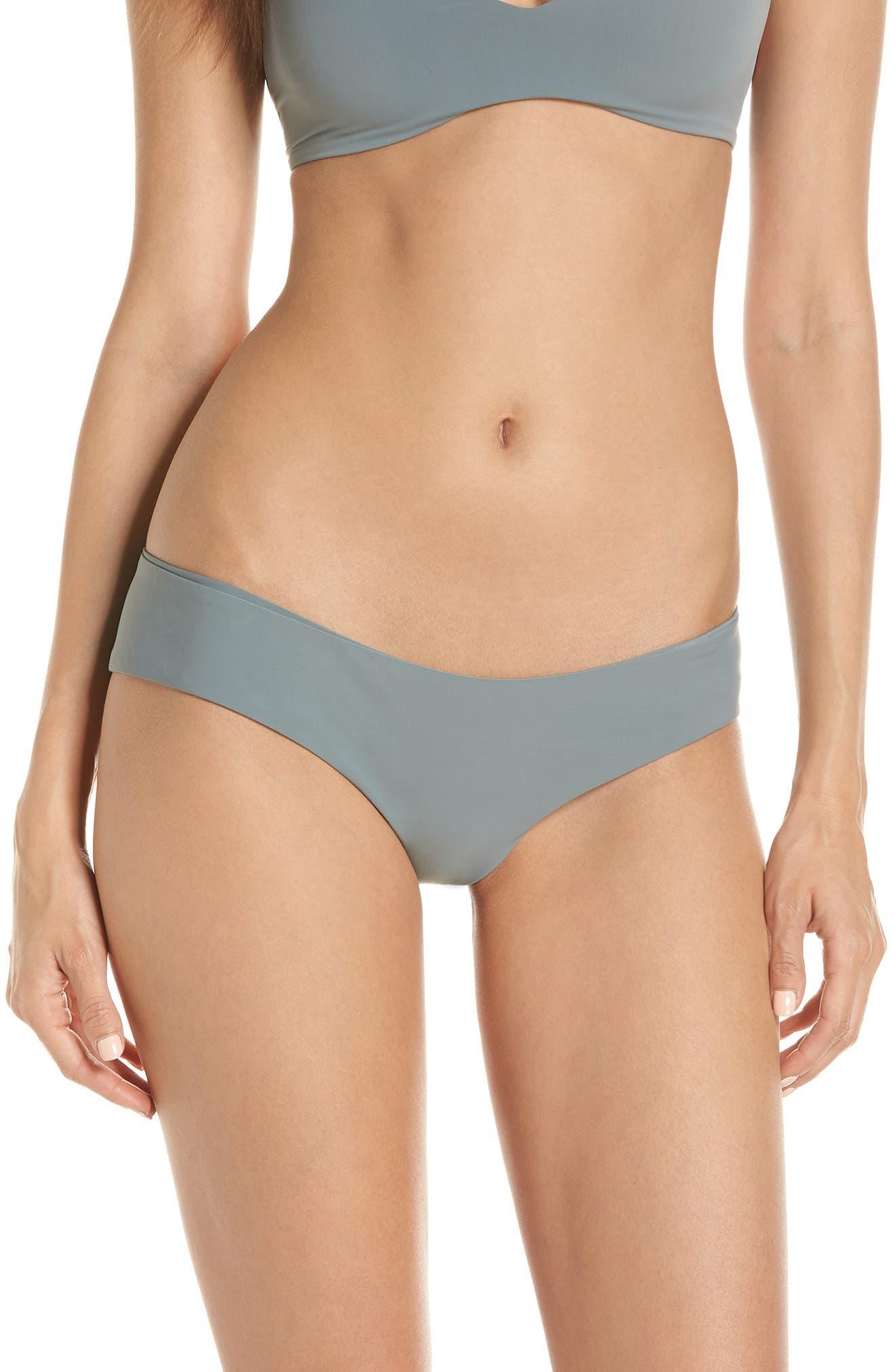 Boys + Arrows Yaya The Yuppy Bikini Bottoms, Grey