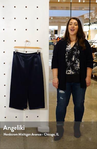 Satin Pencil Skirt, sales video thumbnail