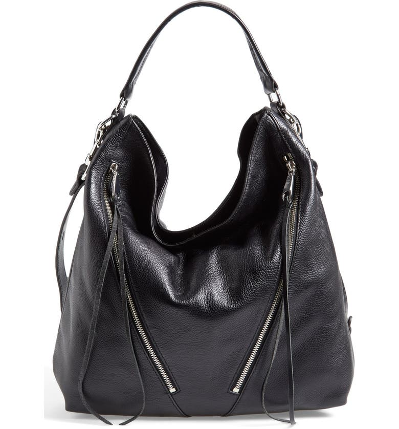 REBECCA MINKOFF 'Moto' Hobo Bag, Main, color, 001