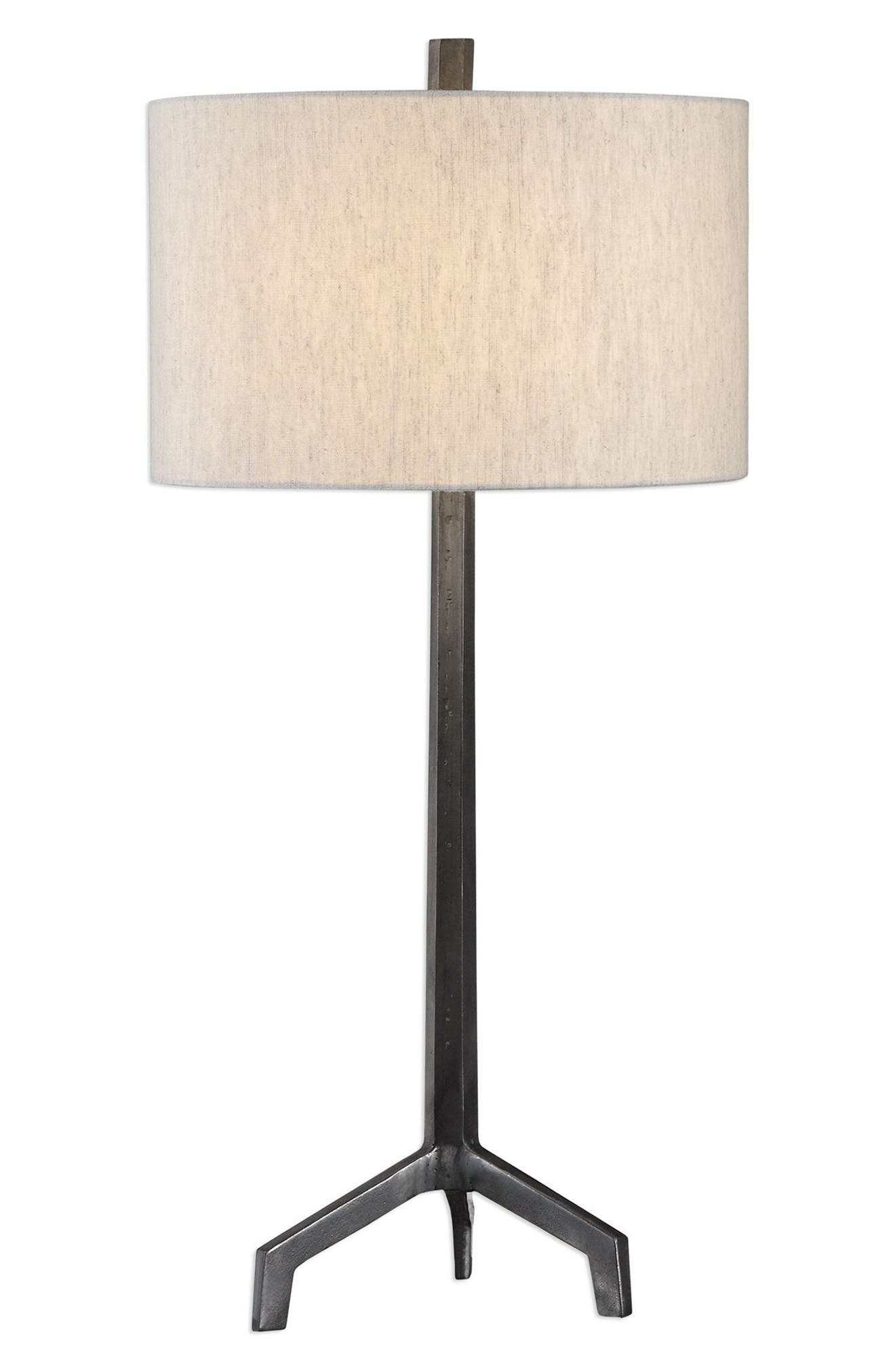 Uttermost Ivor Table Lamp Size One Size  Black