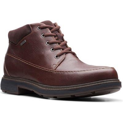 Clarks Un. tread Waterproof Moc Toe Boot- Brown