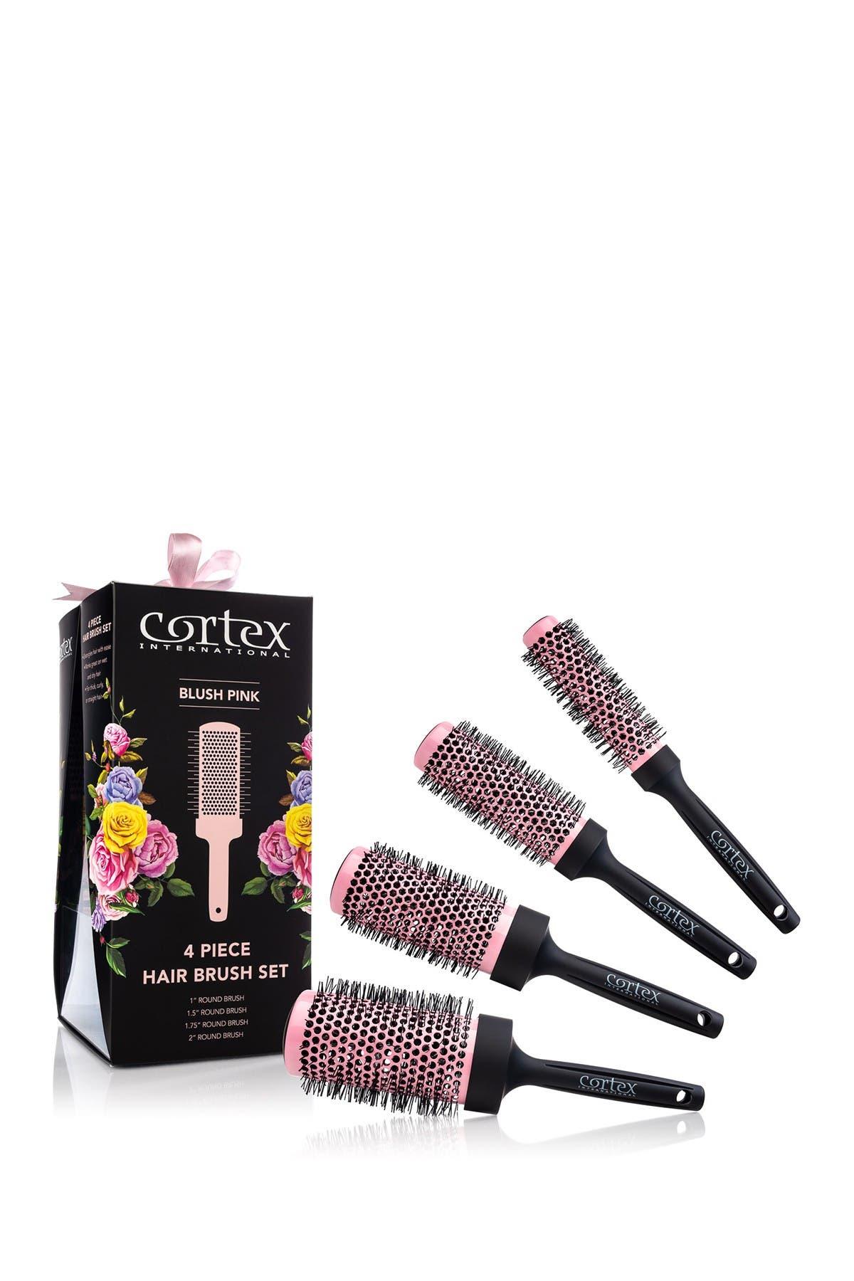 Image of CORTEXT PROFESSIONAL Supermodel Volume 4-Piece Limited Edition Round Brush Set - Blush Pink