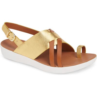 Fitflop Loopy Slingback Sandal, Metallic (Nordstrom Exclusive)