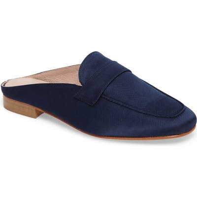 Patricia Green Suffolk Loafer Mule, Blue