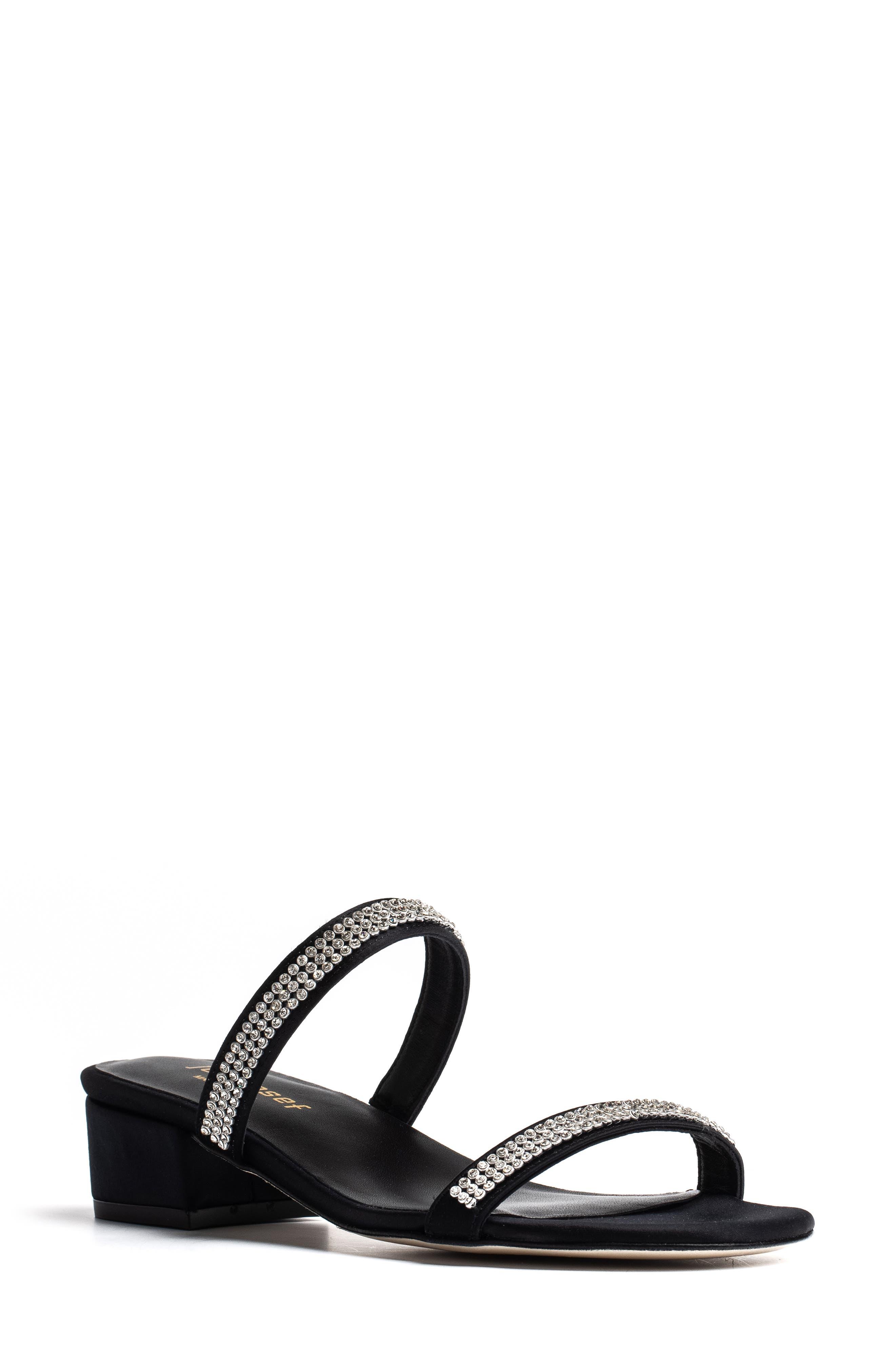 Suarca Rhinestone Embellished Sandal