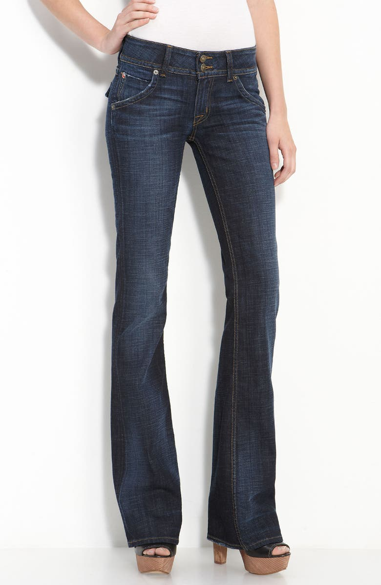 HUDSON JEANS Triangle Pocket Bootcut Stretch Jeans, Main, color, 407