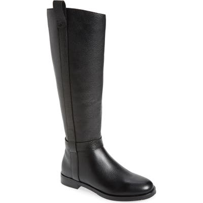 Gentle Souls By Kenneth Cole Terran Knee-High Riding Boot, Black