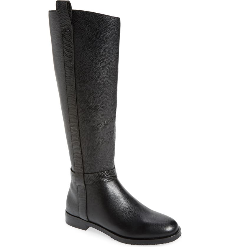 GENTLE SOULS BY KENNETH COLE Terran Knee-High Riding Boot, Main, color, BLACK LEATHER