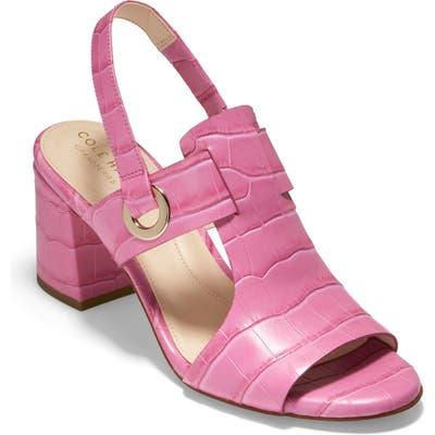 Cole Haan Grand Ambition Adele Slingback Sandal B - Pink