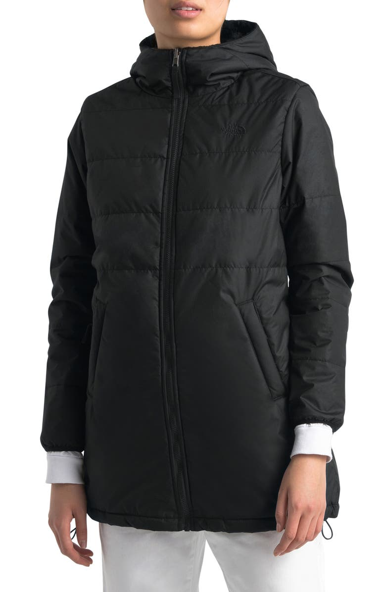 THE NORTH FACE Merriewood Reversible Hooded Jacket, Main, color, 001