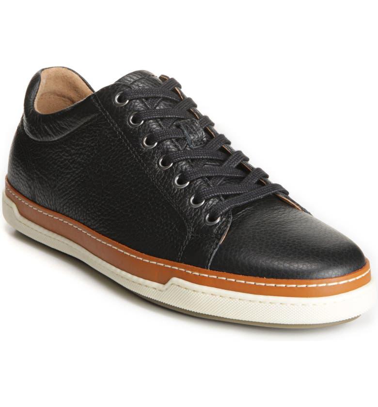 ALLEN EDMONDS Porter Sneaker, Main, color, BLACK