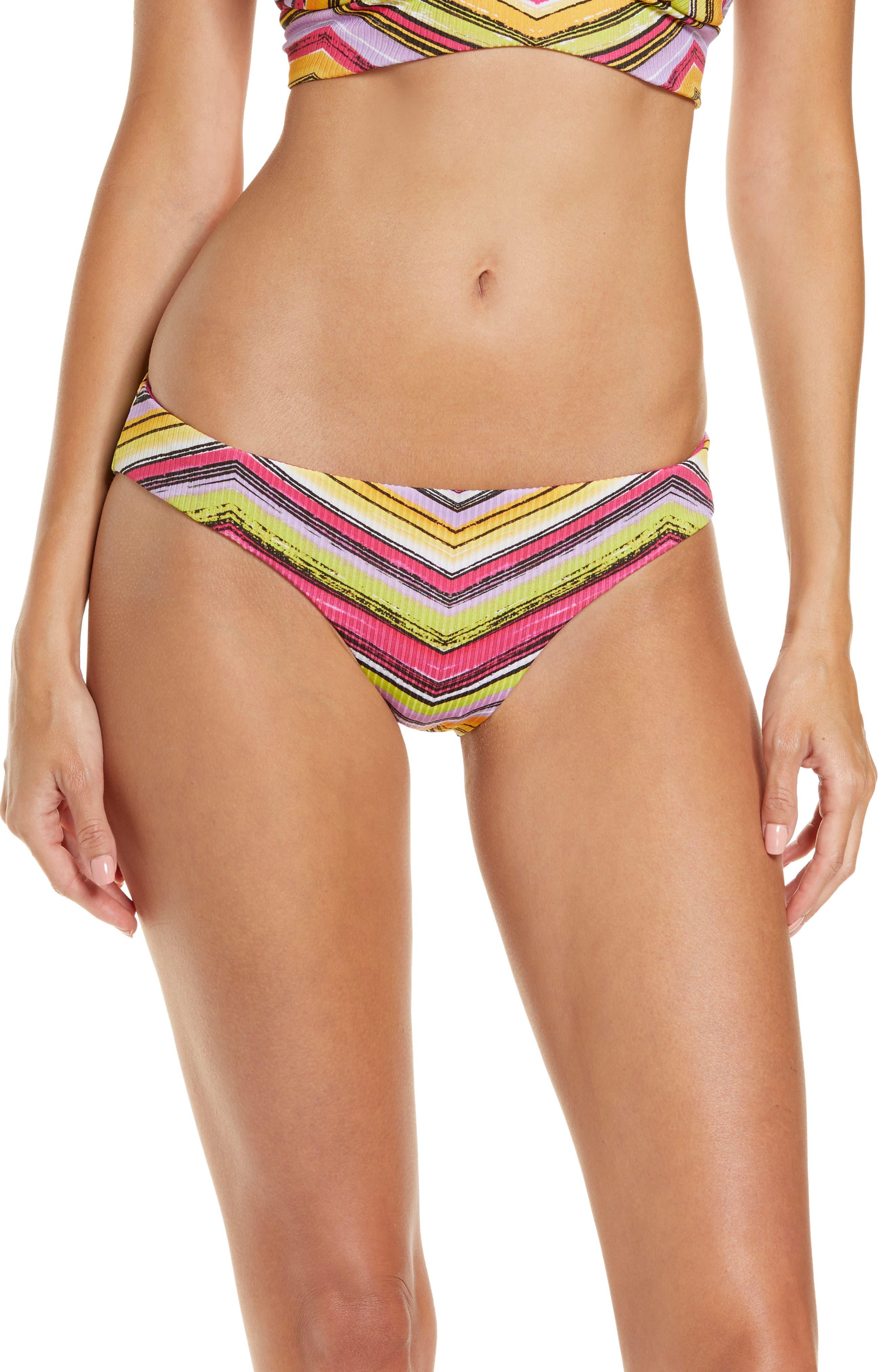 Farah Adela Reversible Hipster Bikini Bottoms