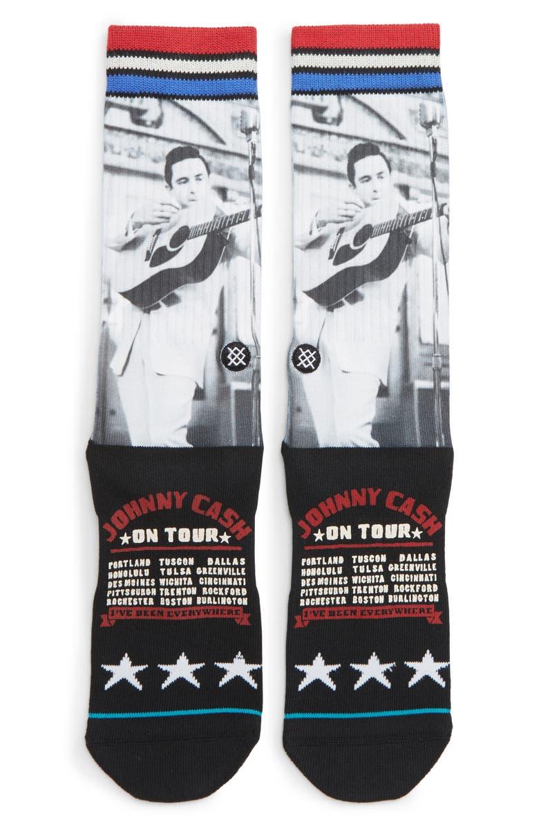 STANCE Cash On Tour Socks, Main, color, 001