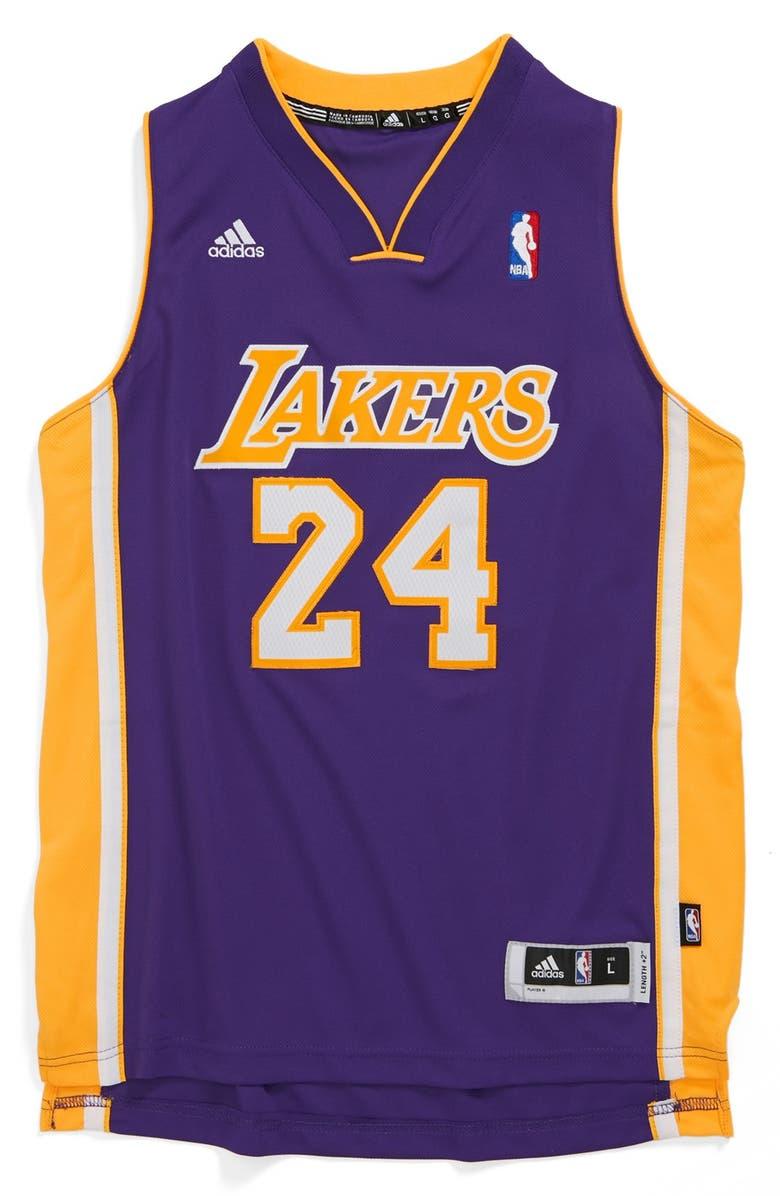 timeless design 26d6b ba9c5 adidas 'Los Angeles Lakers, Kobe Bryant - Swingman Road ...