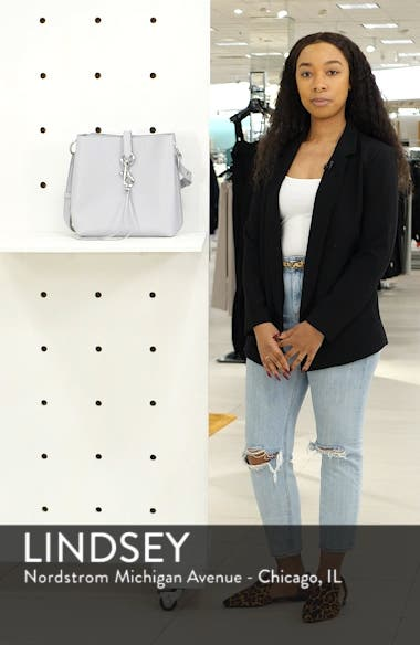 Megan Leather Crossbody Bag, sales video thumbnail
