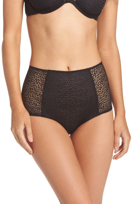 Image of DKNY Modern Lace High-Waist Brief Panties