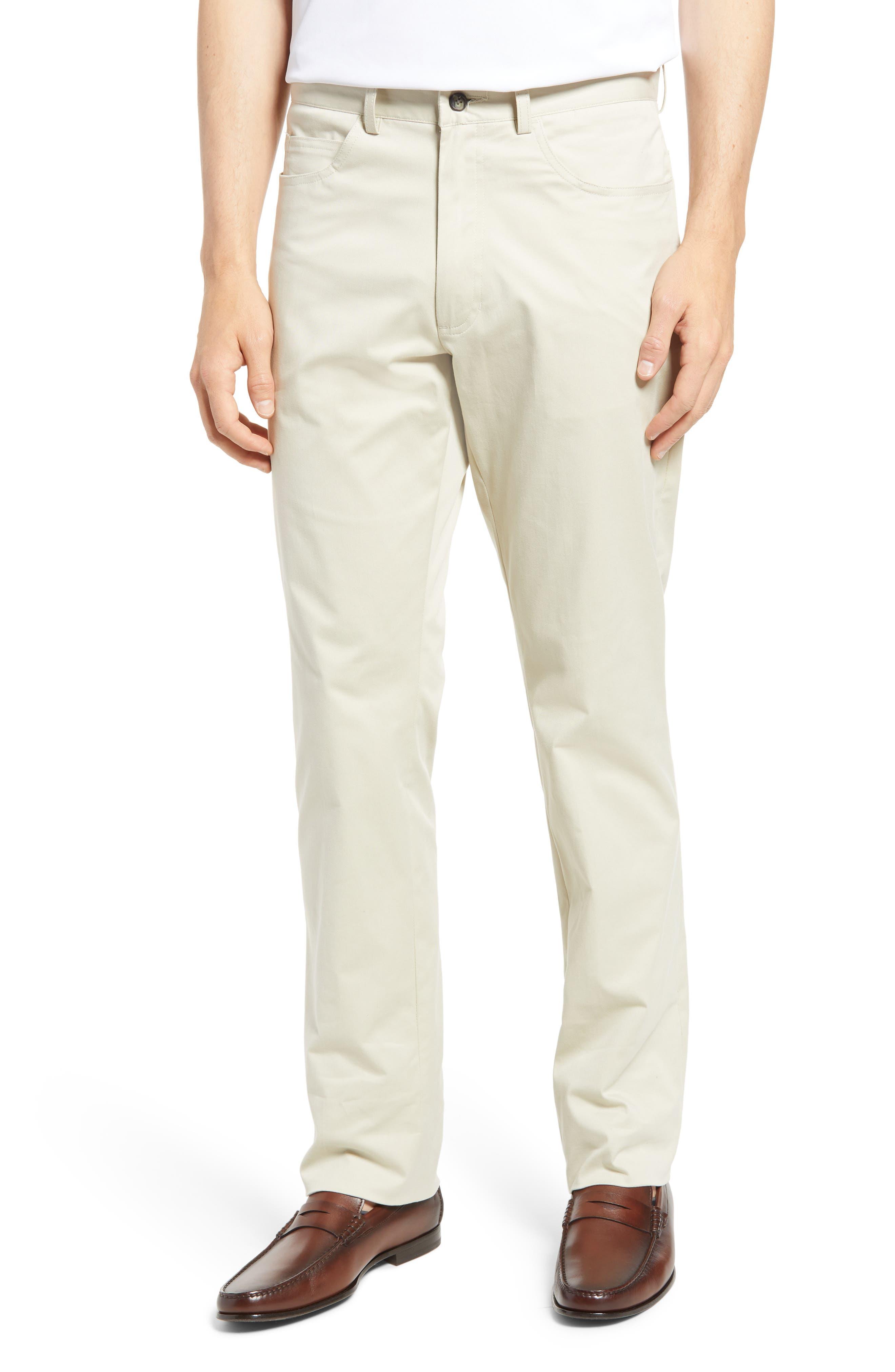 Charleston Stretch Cotton Chino Pants