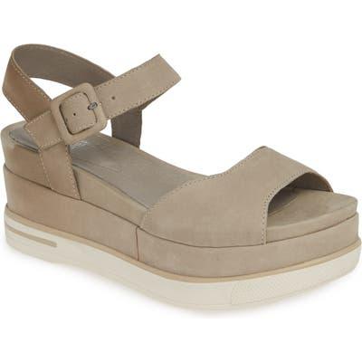 Eileen Fisher Brey Platform Sandal, Beige