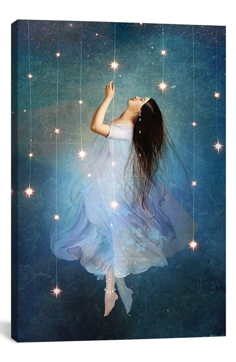 ICANVAS Star Sailor by Catrin Welz-Stein Giclée Print Canvas Art, Main, color, BLUE